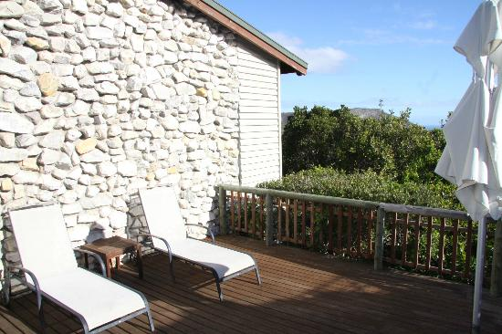 Grootbos Private Nature Reserve : Verandah - Lodge 8