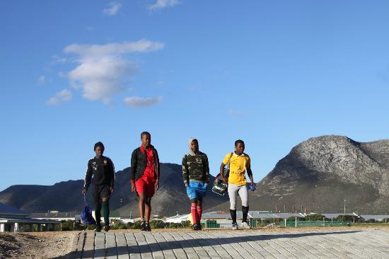 Grootbos Private Nature Reserve : Soccer Field - Local Community