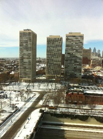 Hilton Philadelphia at Penn's Landing: western view