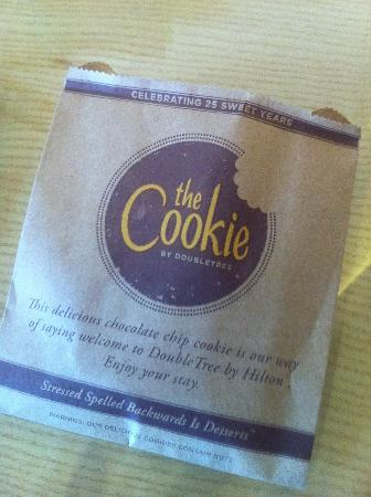 DoubleTree by Hilton Hotel Kuala Lumpur: DoubleTree signature cookies
