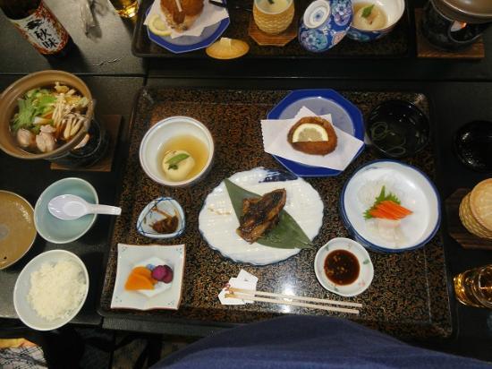 Kinkiyu Hotel: 夕食