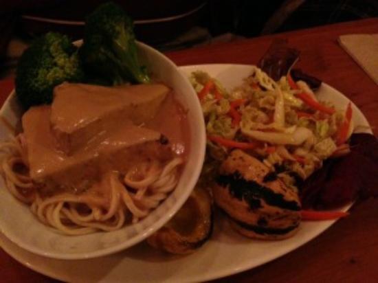 Angelica Kitchen : Seitan and noodles