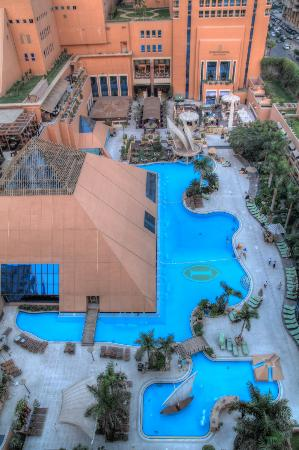 InterContinental Cairo Citystars: Pool side view at day light