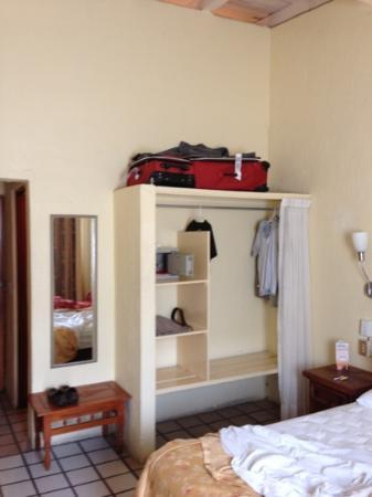 Hotel Mercurio: ample storage