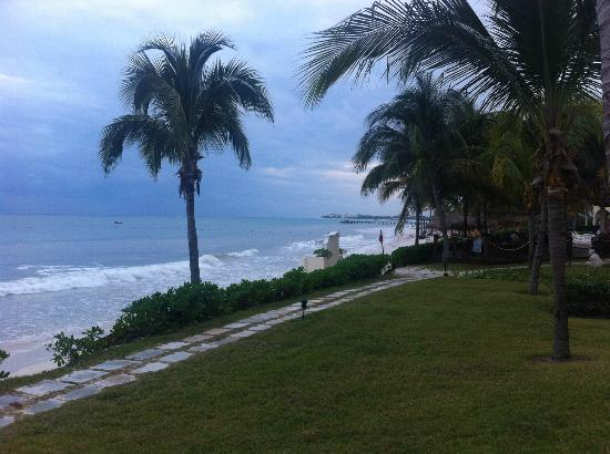 Secrets Capri Riviera Cancun: from our balcony