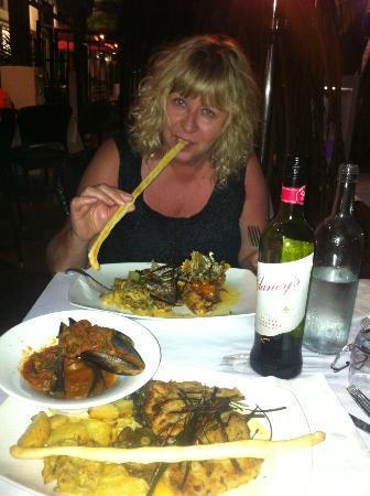 Portofino : Dinning at Portobello