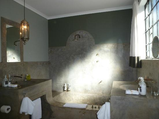 Olive Grove : Large Mediterannean bathroom in our Standard room