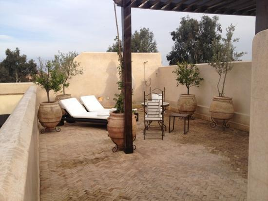 La Villa des Orangers - Hotel: private roof terrace