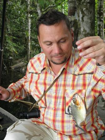 "Sani Lodge: Рыбалка на пиранью началась, или ""Зубастик 1"""