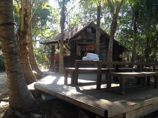 Thala Beach Nature Reserve: The Beach Shack, occasionally open for drinks