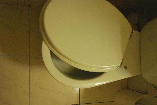 Comfort Hotel Place du Tertre: broken toilet