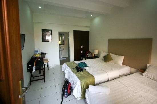 โรงแรมไนน์: Room 307