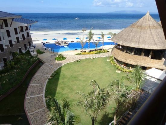 The Bellevue Resort Bohol: beachview room