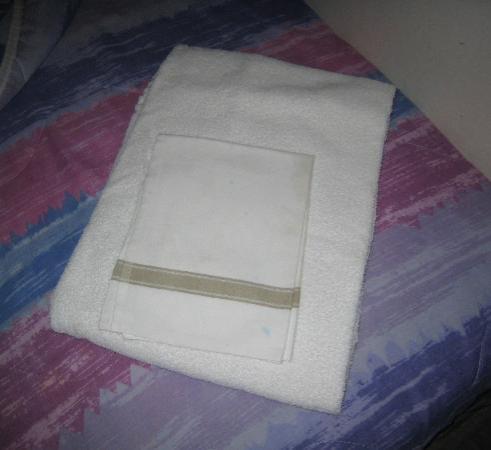Hotel Tiffany: Полинявшие полотенца