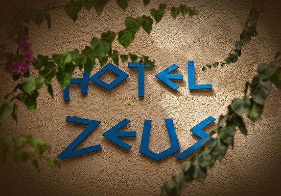 Hotel Zeus: Entrance