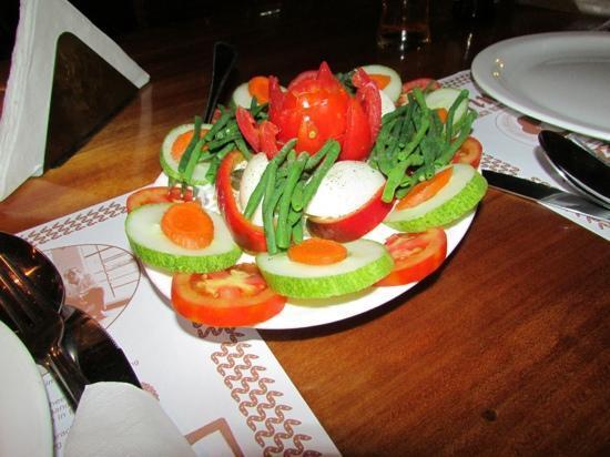 Sarinah: lekkere gezonde salade erbij