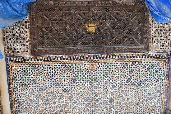 Zaouia of Moulay Idriss II: esterno - dove esprimere un desiderio