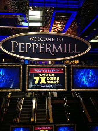 Entrance From The Parking Garage Picture Of Peppermill