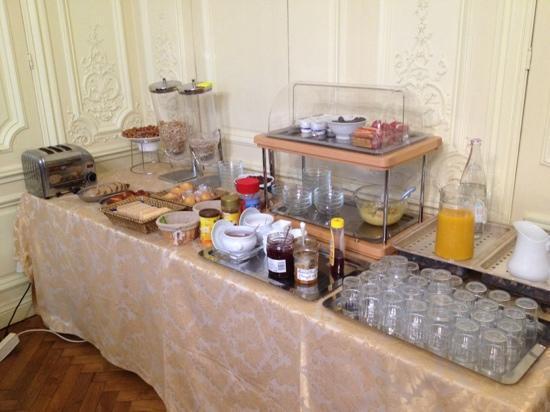 Hotel de l'Europe: la colazione
