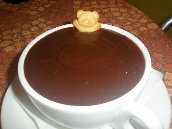 Gelateria Milano: Italian Hot Chocolate, thick and scrumptious