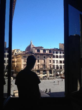 Relais Uffizi: View from breakfast