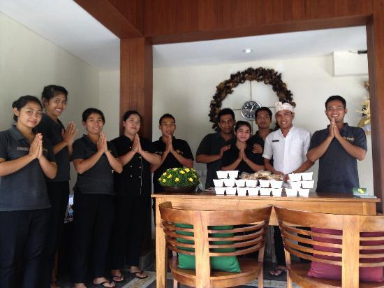 Inata Hotel Monkey Forest: The best staff in ubud st the best hotel, Inata!