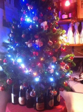 Hosteria Cicchetteria Marinerei : atmosfera natalizia