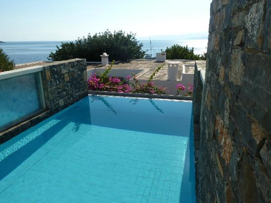 Elounda Peninsula All Suite Hotel: private pool
