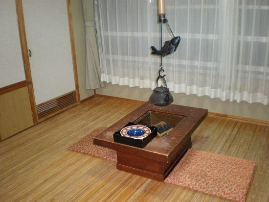 Tateshina Park Hotel : 囲炉裏の部屋