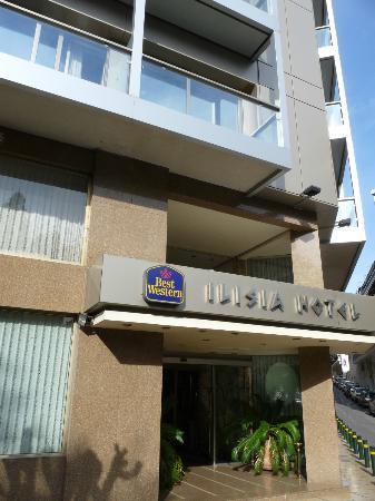 Best Western Ilisia Hotel: façade hôtel