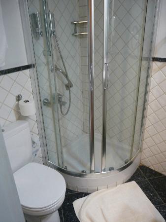 BEST WESTERN Ilisia Hotel : cabine de douche