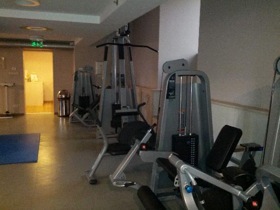 Hilton Budapest Gym