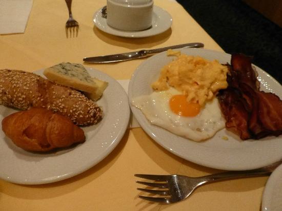 Arena City Hotel Salzburg: 朝食の一部