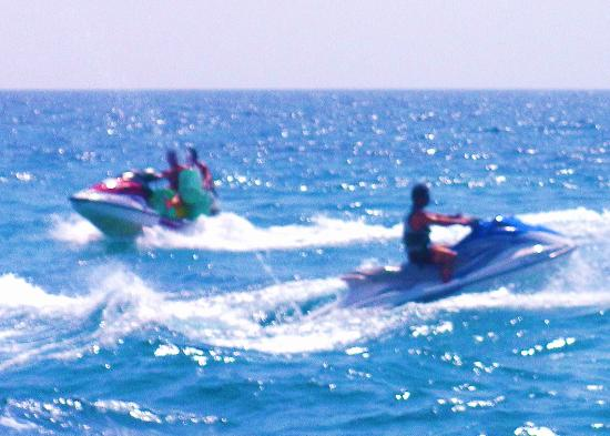 St George Beach: Amazing adrenaline-pumping experience on the JetSkiis