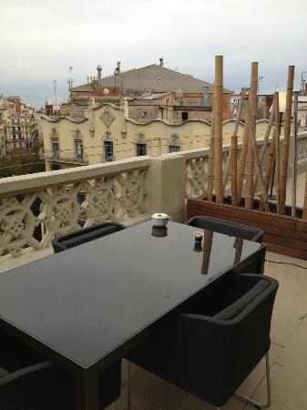 Axel Hotel Barcelona: huge teracce