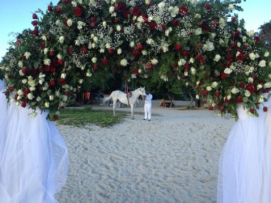 Maradiva Villas Resort and Spa: Wedding Set Up