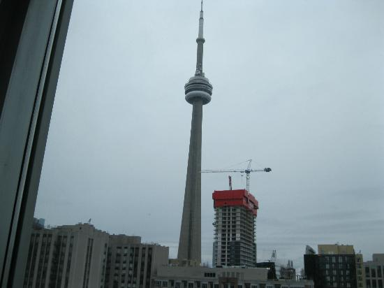 Hyatt Regency Toronto : CN Tower from our window