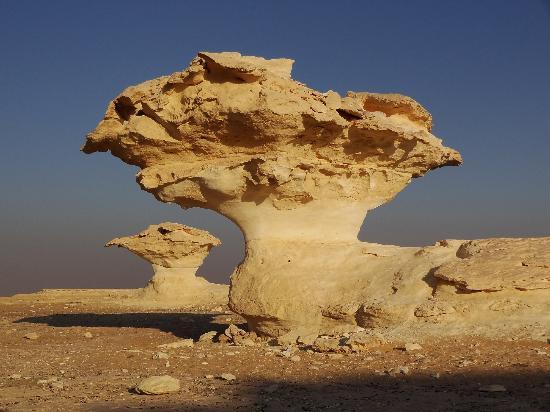 Sandrose Hotel: Weisse Wüste