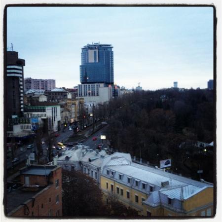 Отель Ibis Киев Центр: вид из окна