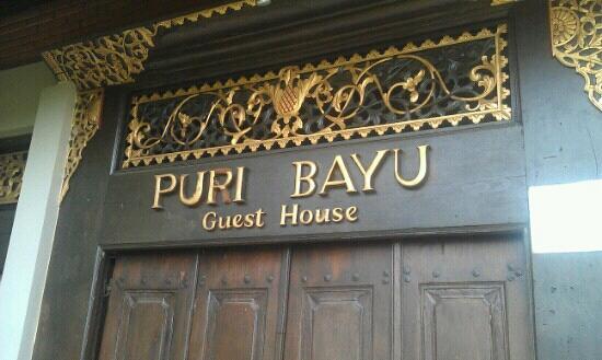 Puri Bayu Guest House: Puri Bayu - Guesthouse