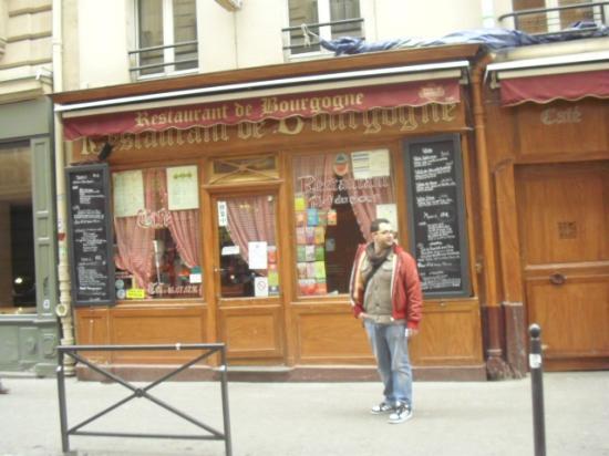 Restaurant de Bourgogne: entrata