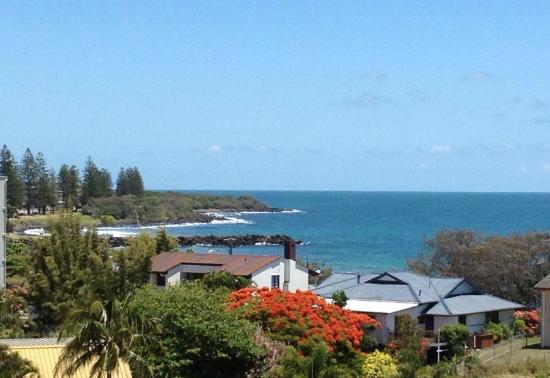 Bargara Blue Resort: View from Top Floor Bargara Blue