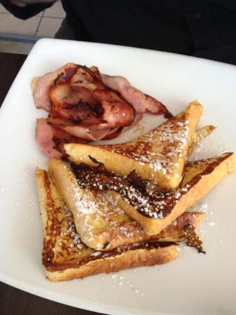 Pantry The: French toast with bacon