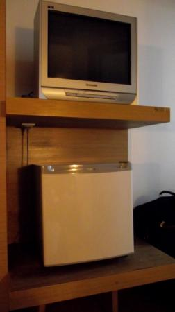 The Seasons Bangkok Huamark: minibar and tv