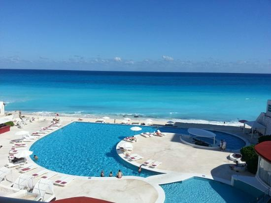 Bel Air Collection Resort & Spa Cancun: Vista do quarto!