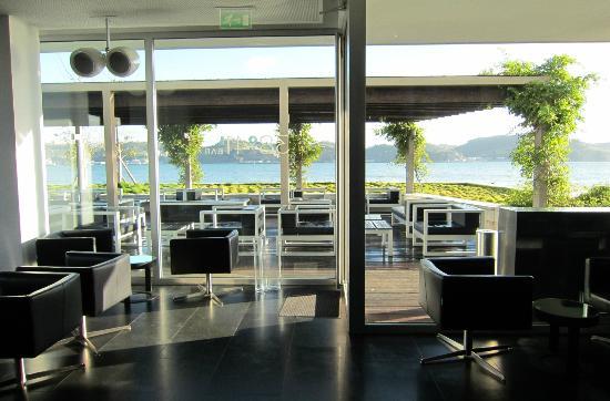 Altis Belem Hotel & Spa: Restaurant mit Außenterrasse