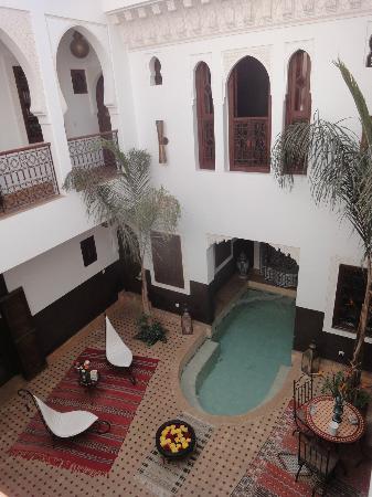 Riad Charme d'Orient: Cour du Riad 