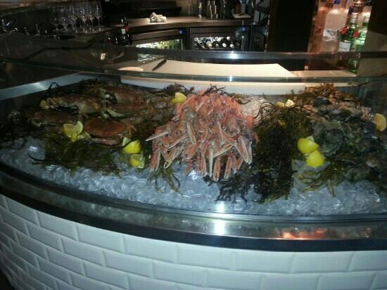 Galvin Brasserie de Luxe: Fresh and local seafood