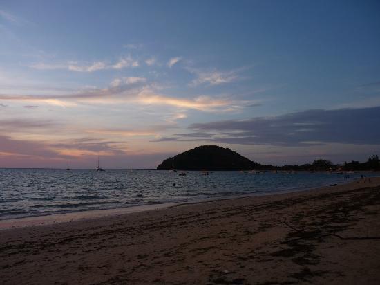 O p'tit bonheur - Bar Resto Chez Senga : vue de la plage