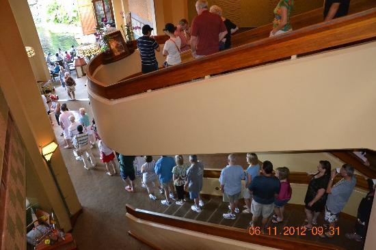 Hyatt Regency Maui Resort and Spa: das morgendliche Anstehen